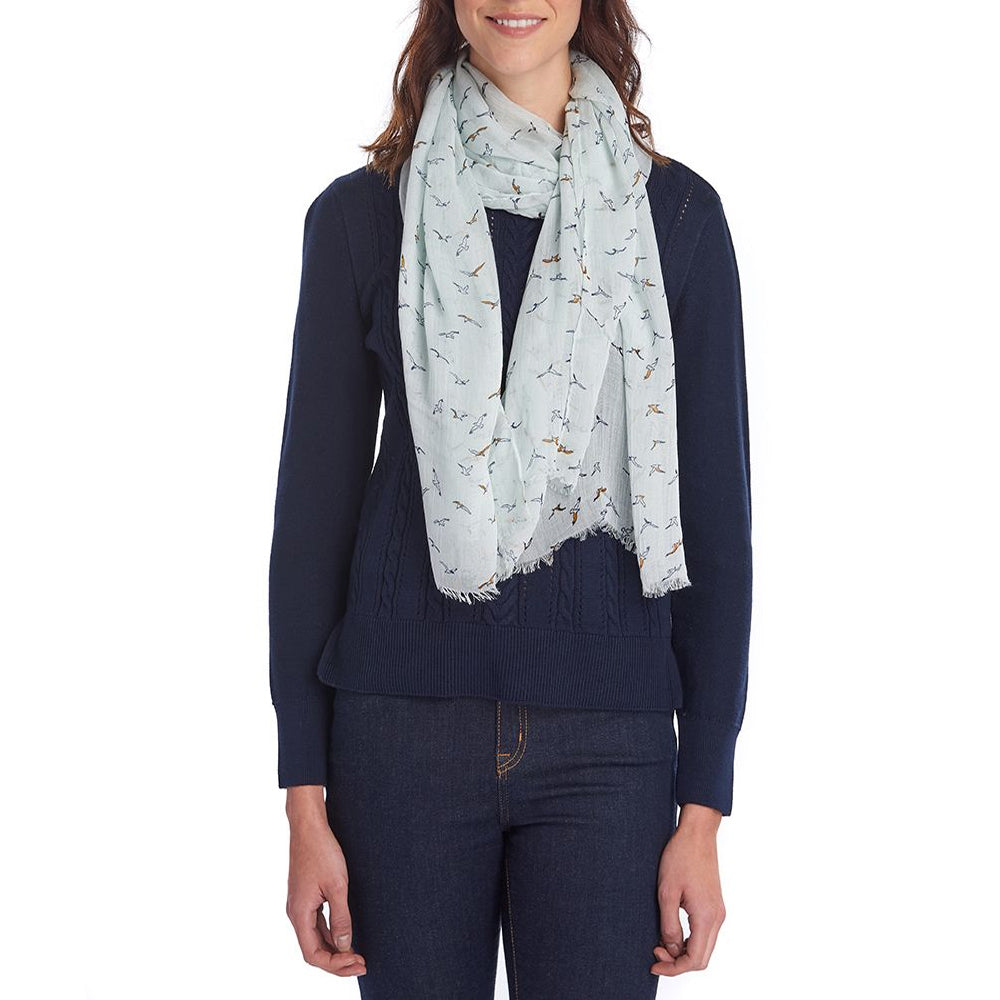 BARBOUR SEAGULL WRAP (MID BLUE)
