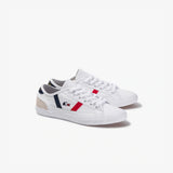 MEN'S SIDELINE TRI 1 SNEAKER (WHITE/NAVY/RED)