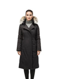 STELLA Ladies A-Line Trench BLACK