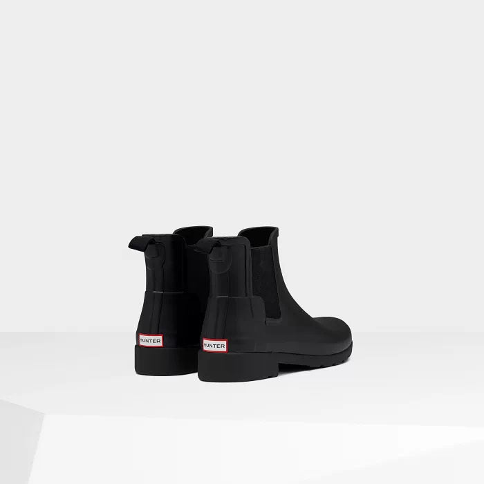 Women's Original Refined Chelsea Boots (Black)