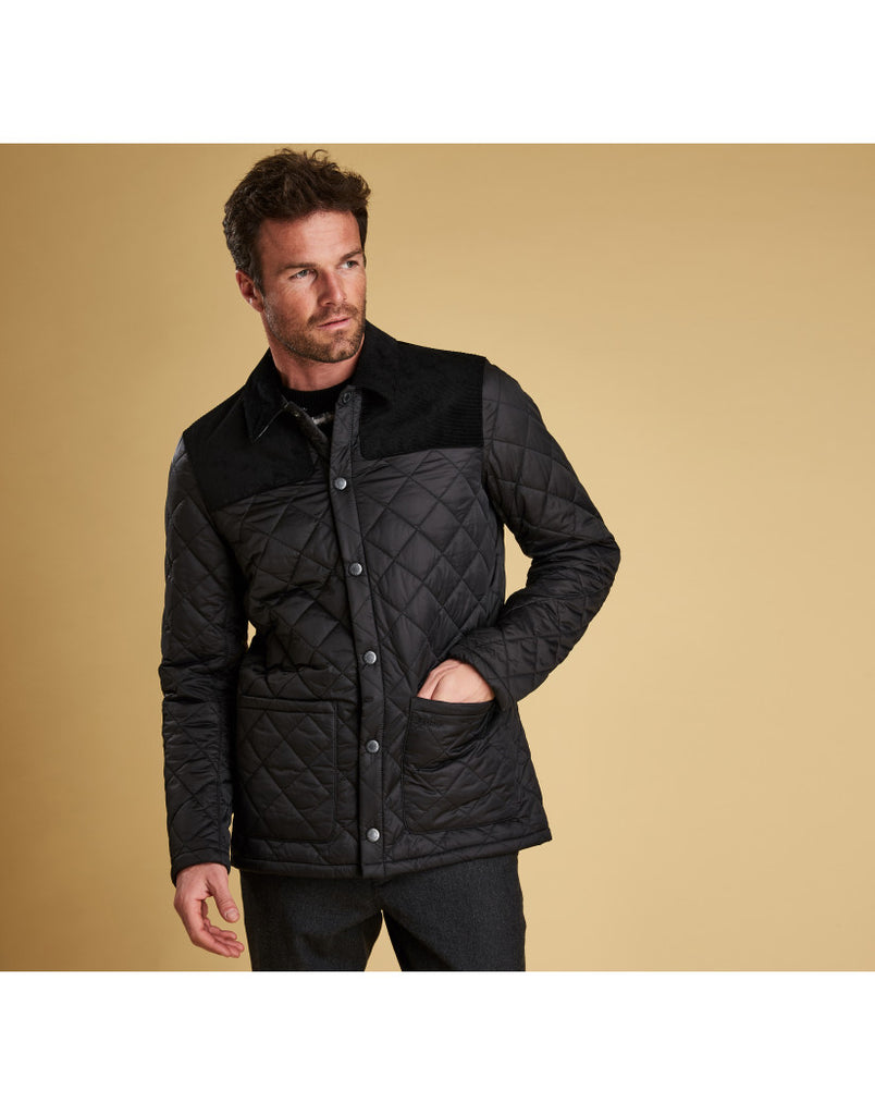 barbour gillock quilted jacket