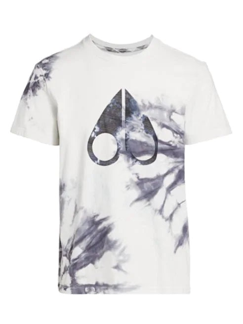 LOGO TIE-DYE T-SHIRTS LADIES (WHITE BLACK TIE DYE)