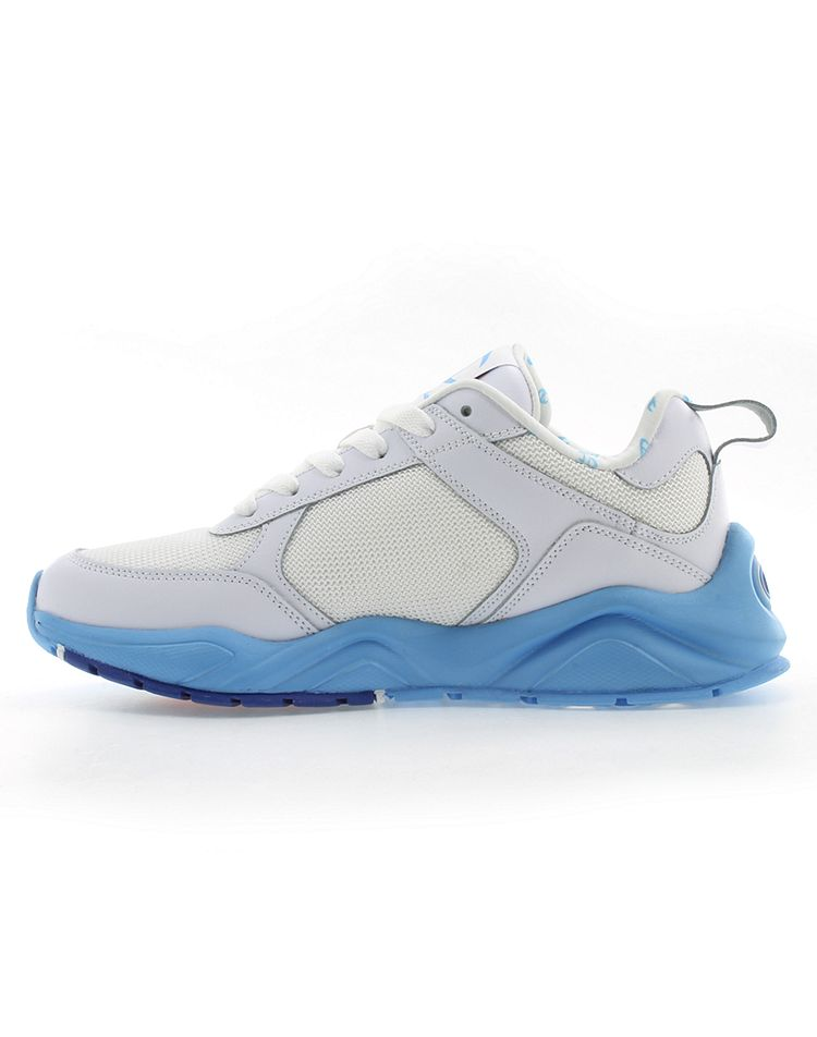 Champion Women's 93Eighteen Dip Sneakers (White/Active Blue)