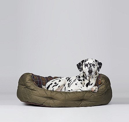 Quilted Dog Bed