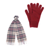 Ladies Scarf and Glove Gift Box Set