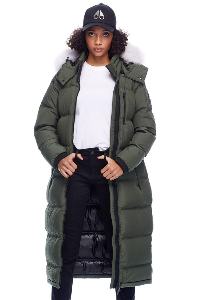 FOX VALLEY PARKA Army w Natural