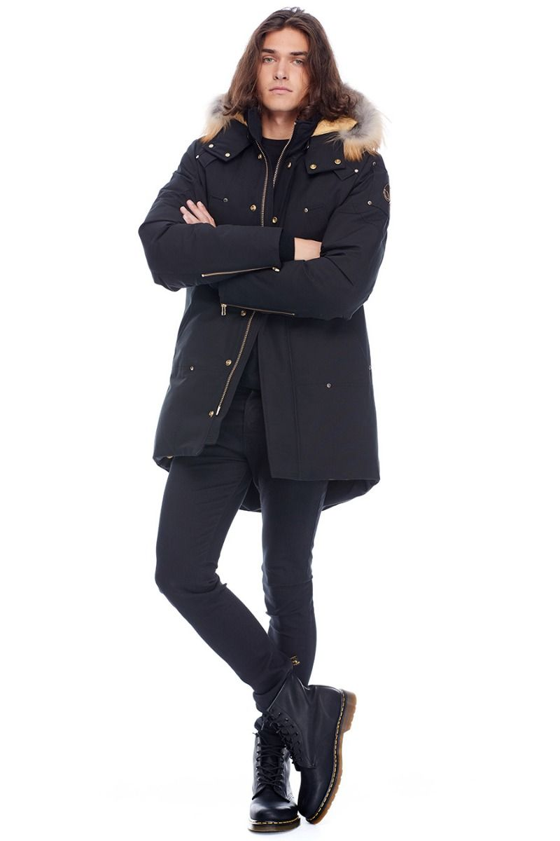 STAG LAKE PARKA BLACK w/ Gold Fur