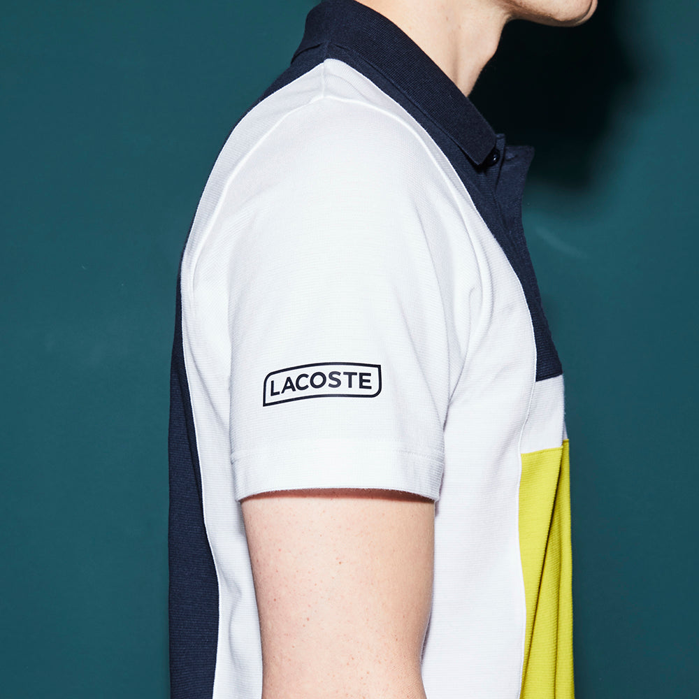 07ceb23f Men's Lacoste Sport Tennis Colorblock Ultra-Light Cotton Polo – Rue ...