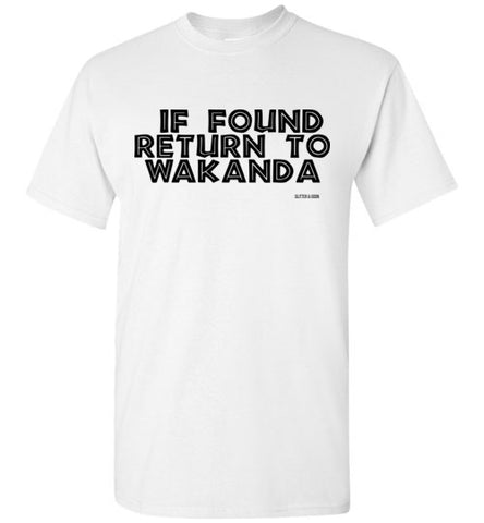 Return to Wakanda Unisex T-Shirt