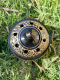 Black & Gold Brass Burner