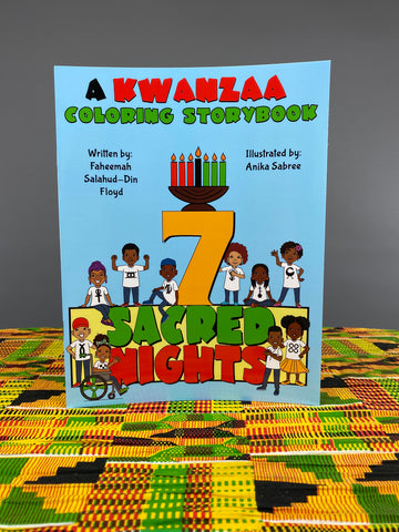 7 Sacred Nights A Kwanzaa Coloring Storybook