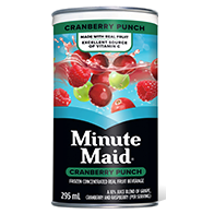 Minute Maid Cranberry Punch 295ml