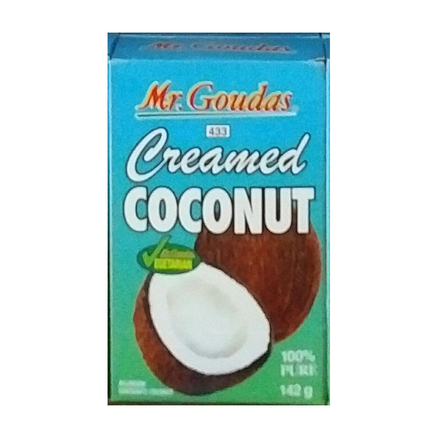 Mr. Goudas Creamed Coconut 142g