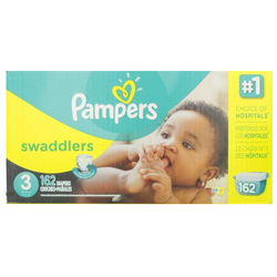Pampers Swaddlers Diaper Size 3 Economic (162 Pack)
