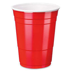 Dart Solo Red Party Cups 16 oz - (12x50/Pack) - Sold By Case