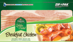 Zabiha Halal fully cooked & Smoked Breakfast Chicken Strips 375G