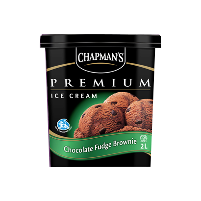 Chapman's Premium Chocolate Fudge Brownie 2L