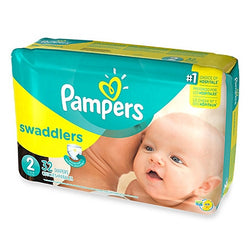 Pampers Swaddlers Diapers Size 2 (32 Pack)