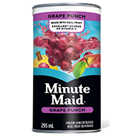 Minute Maid Grape Punch 295ml