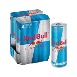 Red Bull Sugar Free  4x250ml