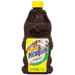 Nestle Nesquik Iron Enriched Chocolate Syrup 700ml