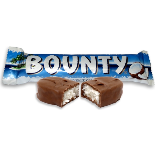Bounty Coconut Chocolate Candy Bar