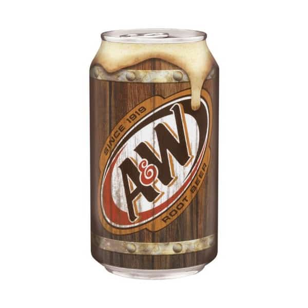 A&W Root Beer (12x355mL)
