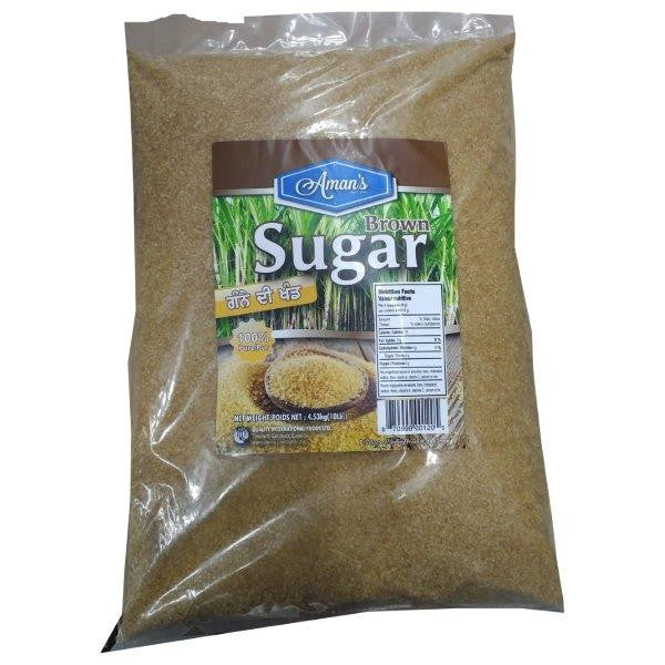 Aman's Brown Sugar 100% Pure, 10lbs