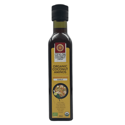 Organic Coconut Seasoning Sauce 250ML - Garlic