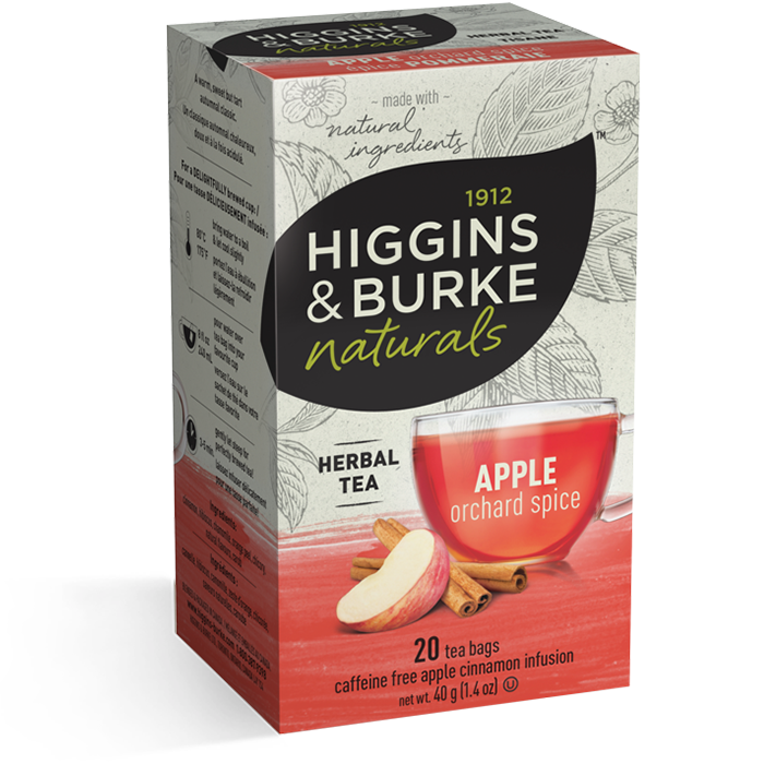 1912 HIGGINGS & BURKE Naturals Herbal Tea Apple Pommeraie (20 Bags)