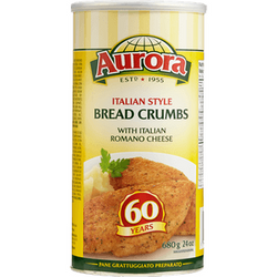 Aurora Italian Style Bread Crumbs with Italian Romano Cheese 680G