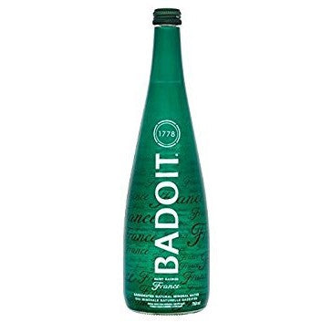 Badoit Carbonated Natural Mineral Water, (12x750ML)