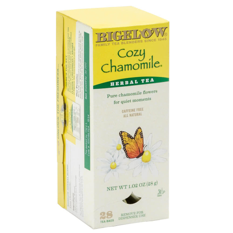 BIGELOW Cozy Chamomile Herbal Tea (28 Packs)