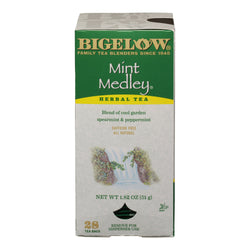 BIGELOW Mint Medley Herbal Tea (28 Packs)