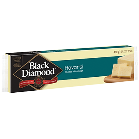 Black Diamond Havarti Cheese, 400G