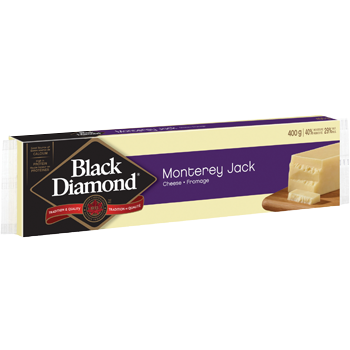 Black Diamond Monterey Jack Cheese, 400G