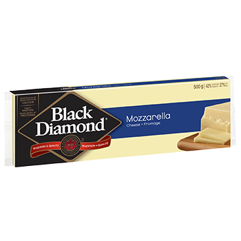 Black Diamond Mozzarella 16% M.F. Cheese, 400G