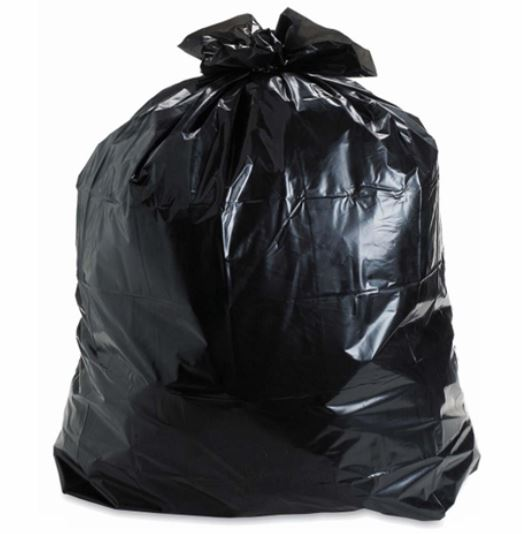 CPG Black Regular Garbage Bags - 30x38 - 250 Counts