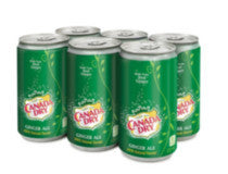 Canada Dry Ginger Ale 6x222ML