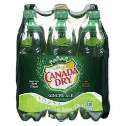 Canada Dry Ginger Ale 6x710ML