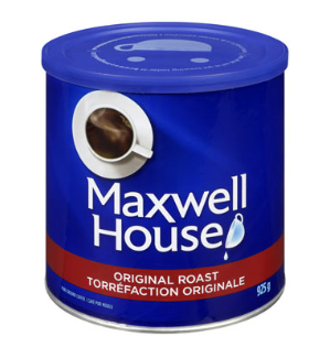 Maxwell House  Tin Original Roast Coffee 925G