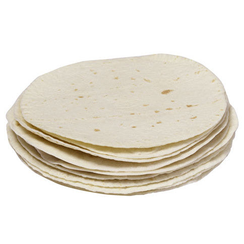 "Chef Nutri 12"" White Flavour Tortillas  (Pack of 12)"