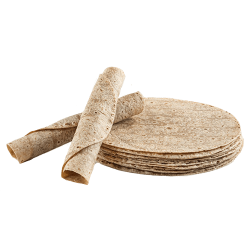 "Chef Nutri 12"" Whole Wheat Tortillas  (Pack of 12)"