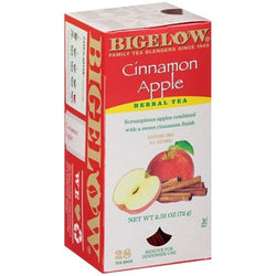 BIGELOW Cinnamon Apple Herbal Tea (28 Packs)
