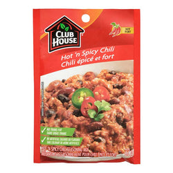 Club House Hot and Spicy Chilli Seasoning Mix 32G