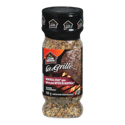 Club House La Grille Montreal Steak Spice Seasoing 188G
