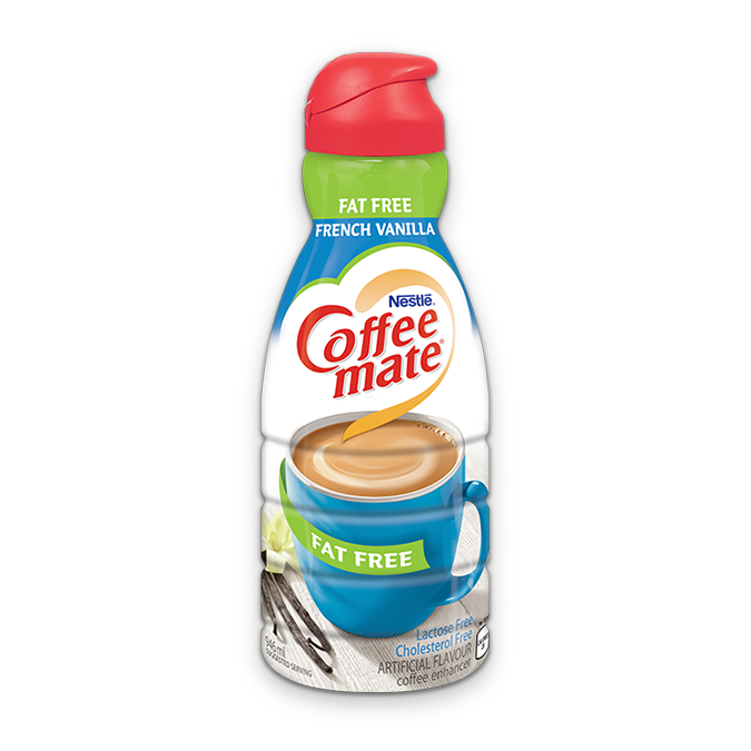 Coffee Mate French Vanilla Fat FreeCoffee Whitener, 946ml