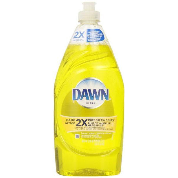 DAWN Ultra Dishwashing Liquid Lemon Scent 638mL