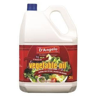 D'Angelo Vegetable Oil, 3L