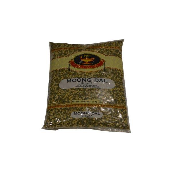 Deep Moong Dal Chilka (Split Moong Beans)  4LB